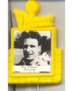 Reg Matthews England World Cup 1958 Badge
