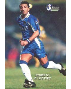 Chelsea - Roberto di Matteo 1998-1999 Premier League colour card