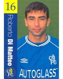 Chelsea - Roberto Di Matteo official Chelsea card