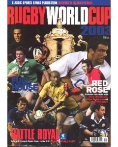 Rugby World Cup 2003 book Classic Sports Series Publication