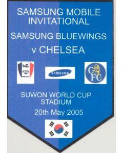Suwon Samsung Bluewings v Chelsea unofficial souvenir 20/05/2005 pirate