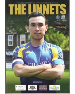 King's Lynn Town FC V Southend United 21/08/21 Official Programme -Southend's first ever non league game