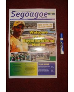 2010 World Cup Segoagoe newspaper, produced for Rustenburg