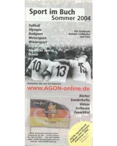 Sport im Buch Sommer 2004 (Sports in Book Summer 2004) - German book