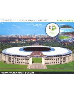 2006 World Cup Germany - Stadiums of the 2006 FIFA World Cup set of 12 postcards