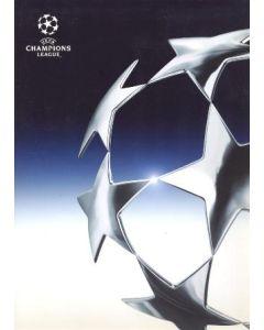 Stuttgart v Chelsea press pack 25/02/2004 Chamions League