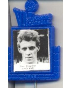 Stan Crowther England World Cup 1958 Badge