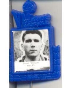 Stuart Williams Wales World Cup 1958 Badge