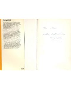 Revelations Of A Football Manager signed by the author book by Terry Neill