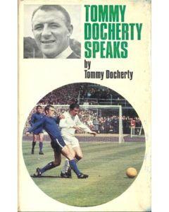 Tommy Docherty Speaks - book by Tommy Docherty 1967 hard bound
