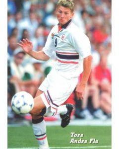 1998 World Cup in France Tore Andre Flo postcard