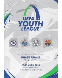2018 UEFA Youth League Semi-Final/Final Programme