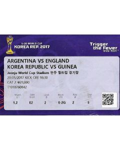2017 Under 20 World Cup England v Argentina