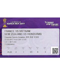 world Cup under 20 ticket
