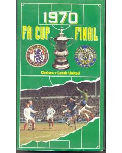 1970 FA Cup Final Chelsea v Leeds United Video Tape Cassette
