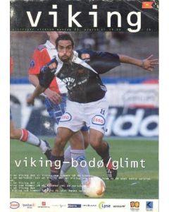 2002 Viking v Bodo/Glimt official programme 26/08/2002
