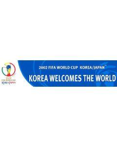 2002 World Cup long sticker