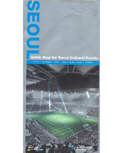 2002 World Cup - Seoul Guide Map For Seoul Cultural Events