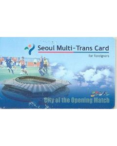 2002 World Cup - Seoul Multi-Trans Card