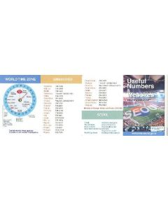 2002 World Cup - Useful Numbers & Websites guide