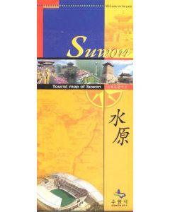2002 World Cup - Tourist Map Of Suwon