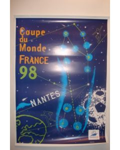 1998 World Cup Poster Nantes