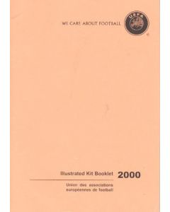 We Care About Football - UEFA Illustrated Kit Booklet 2000