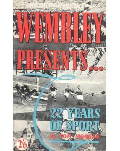 Wembley Presents 22 Years Of Football book by Tom Morgan