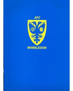 Wimbledon FC press pack 2010-2011