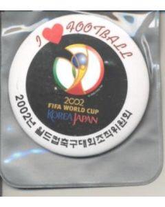 World Cup 2002 badge