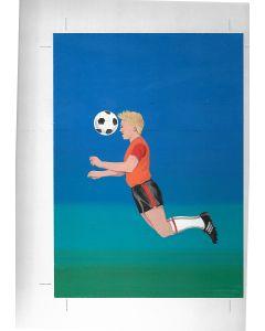 World Cup 1982 Match Box Artwork