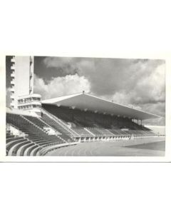 1952 15th Olympic Games in Helsinki, Finland postcard, featuring the Olympic Stadium
