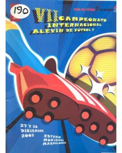 Youth Tournament with Manchester United press pack 27-28/12/2002 Canal+