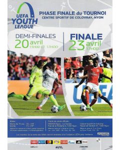 2018 UEFA Youth League Final Flyer